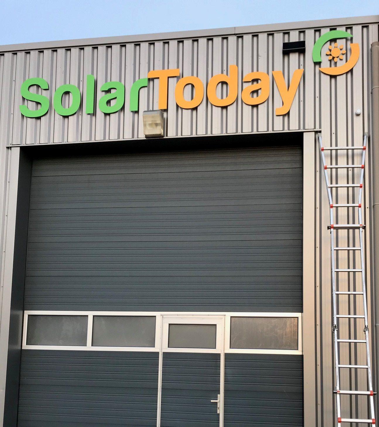 Geen wolkje aan de lucht bij Solar Today